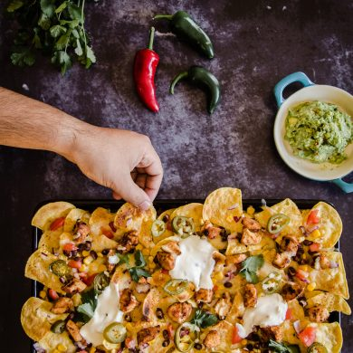 How To Make Tequila Chicken Nachos
